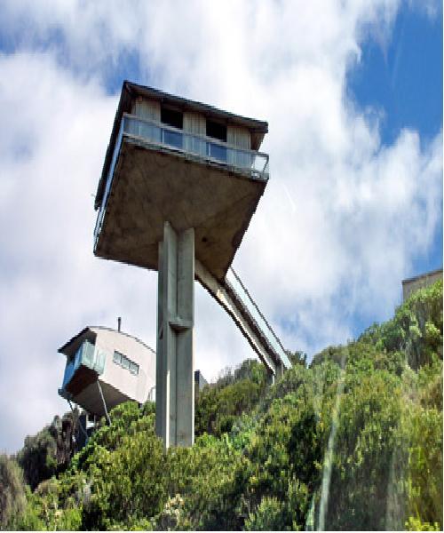 The Pillar House-Weirdest Houses In The World