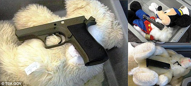 A Gun Packing Mickey-Craziest Things Found By Airport Security