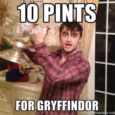 It looks more than 10-'10 Points For Gryffindor' Memes