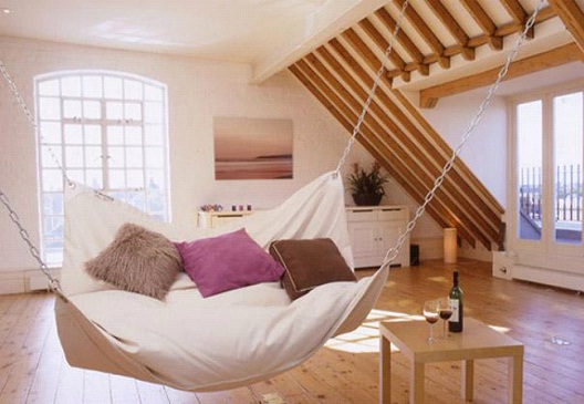 Hammock Bed-Awesome Home Interior Designs Ever