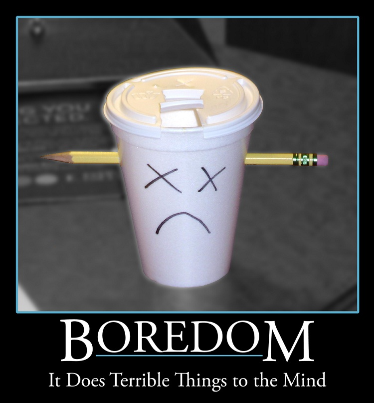The poor coffee cup-24 Funny Things People Do When Bored At Home