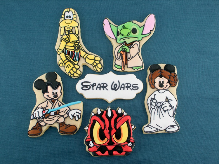 Keep them forever-Disney Characters In Star Wars Theme