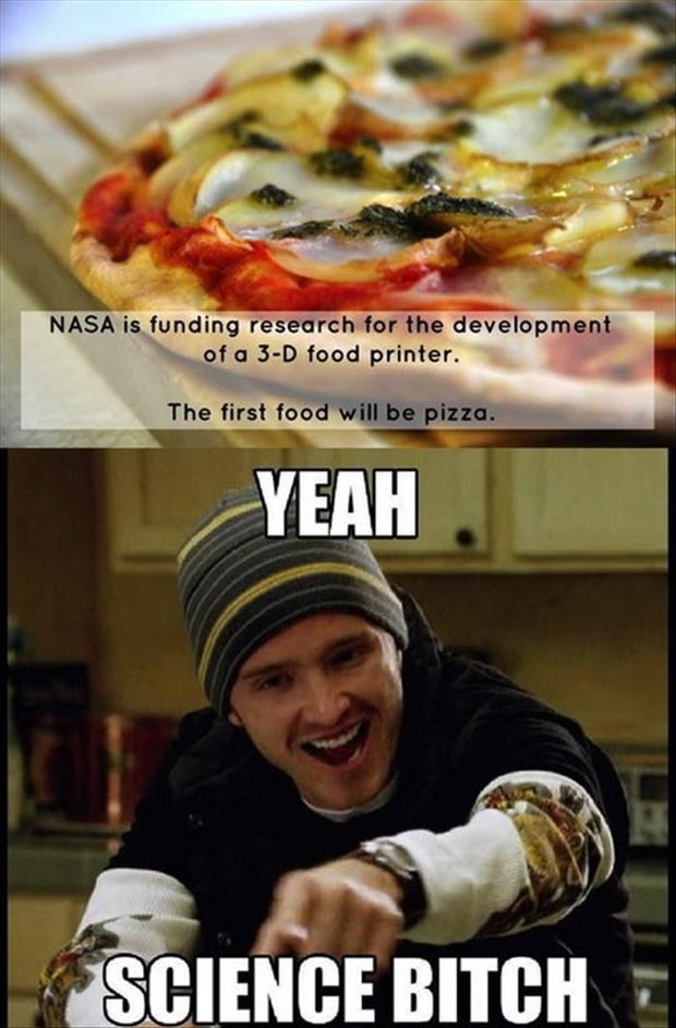 "Pizza wins-24 Best ""Yeah Science Bitch"" Memes Ever Made"