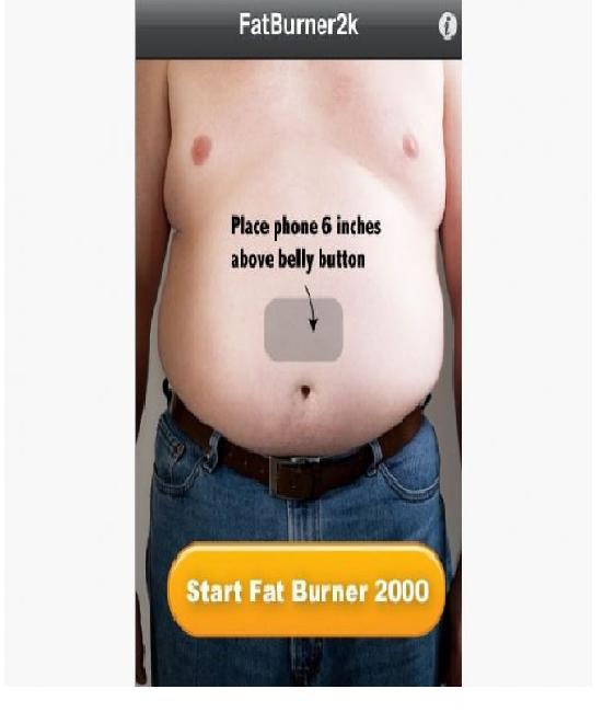 Fat Burner-Craziest IPhone Apps