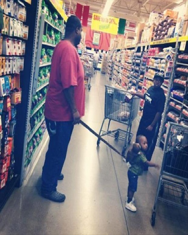 Baby on a Leash-Worst Parenting Fails