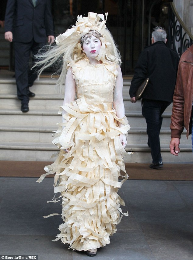 It's not even Halloween-Worst Lady Gaga Outfits