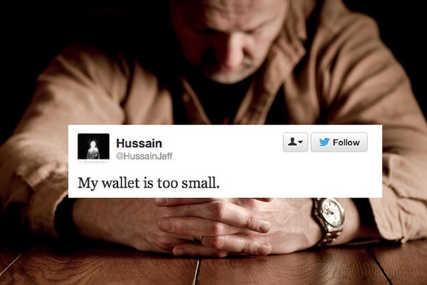 Wallet issues-Stupid First World Problems People Posting On Twitter