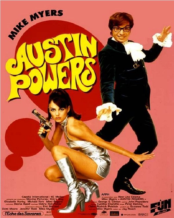 Austin Powers-Best Comedy Movies Of All Time