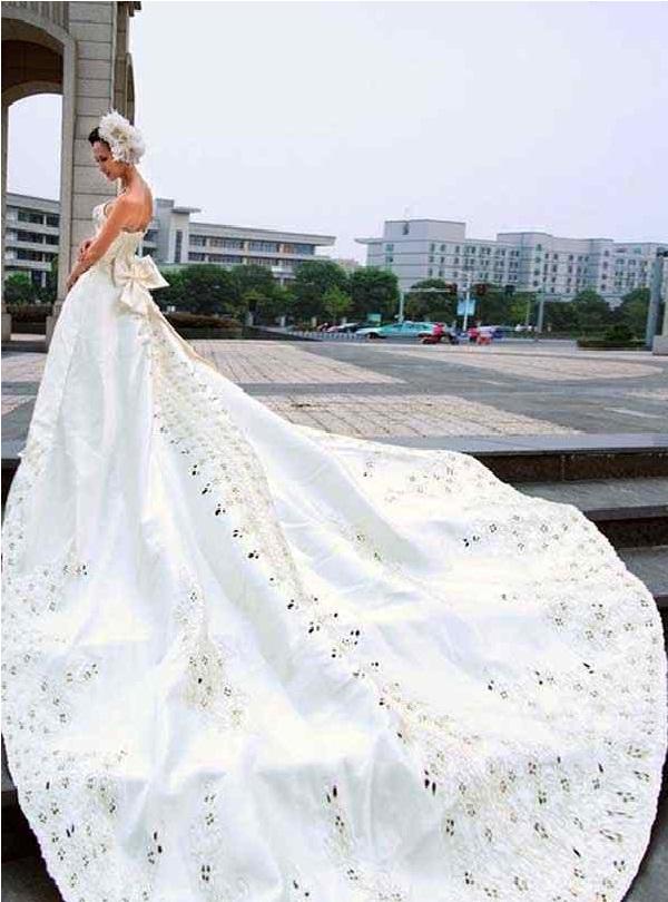 Never ending dress-Worst Wedding Dresses