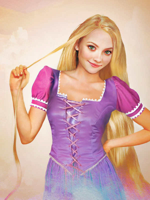 Princess Rapunzel-15 Real Life Illustrations Of Disney Characters