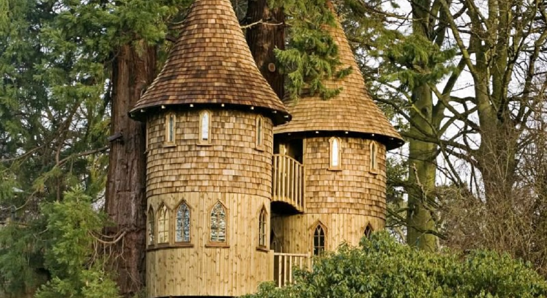 15 Amazing Tree Houses Ever