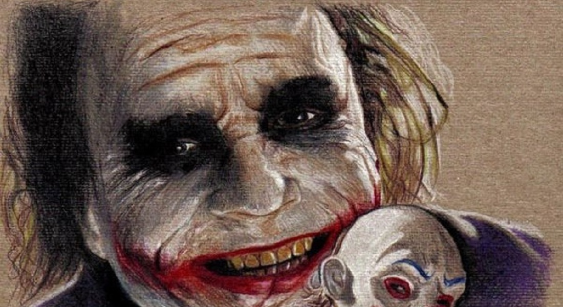 15 Best Joker Drawings That Give You Nightmares