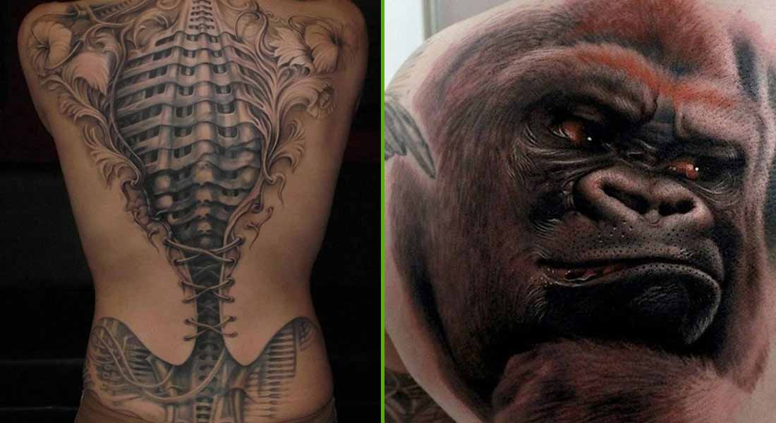 15 Fantastic Three Dimensional Tattoos That Will Blow Your Mind