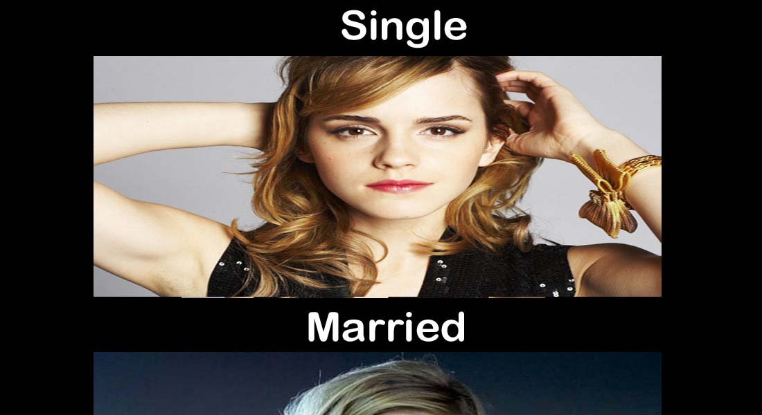 15 Images That Show Striking Difference Between Single And Married Life