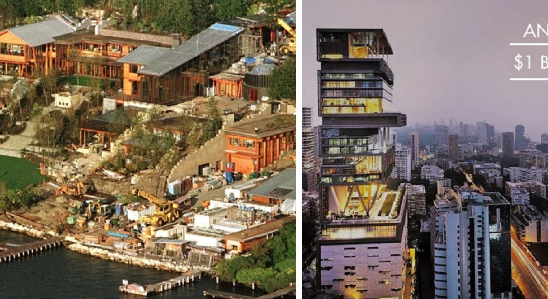 15 Most Expensive Homes In The World