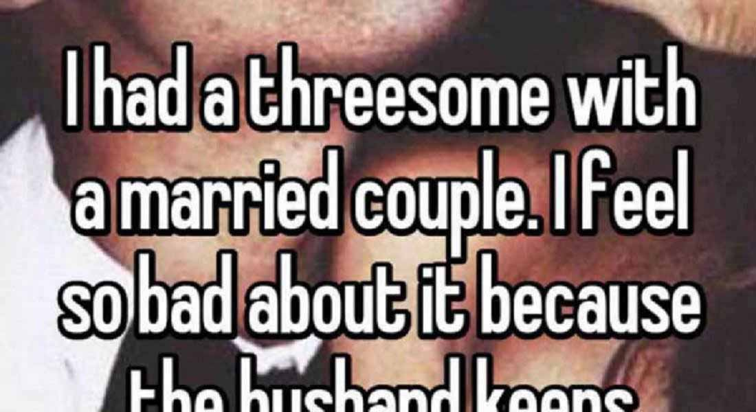 15 People Confess Their First Threesome Experience