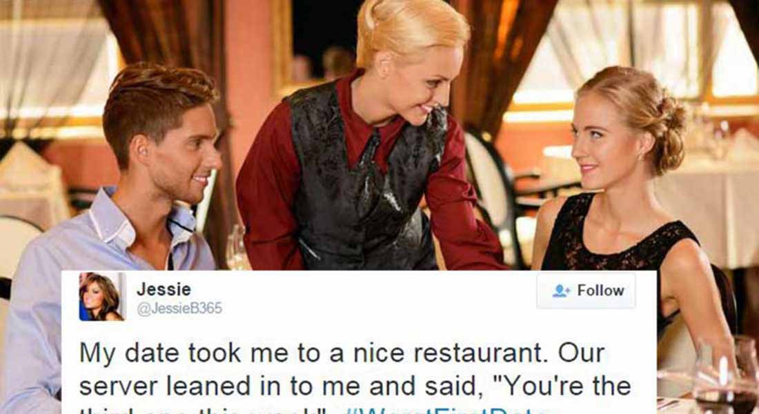 15 People Confess Their Worst First Date On Twitter