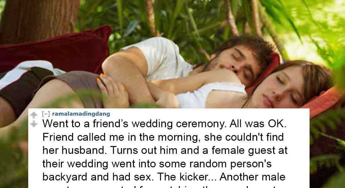 15 People Reveal The Worst Wedding Ceremony They Ever Attended