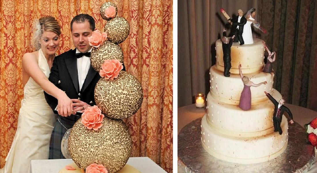 15 Weirdest Wedding Cakes You'll Ever See