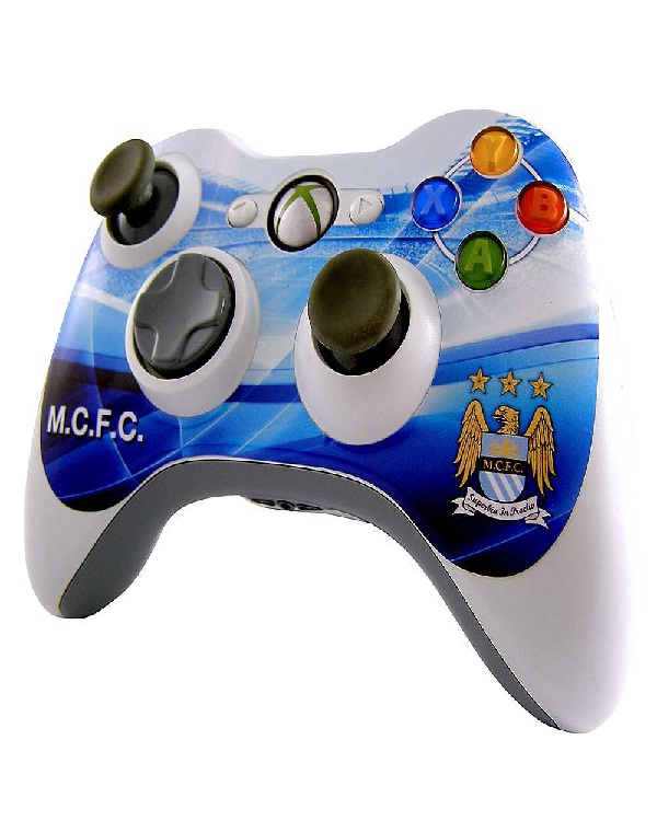 Manchester City Football Club Controller-Amazing XBox Controllers