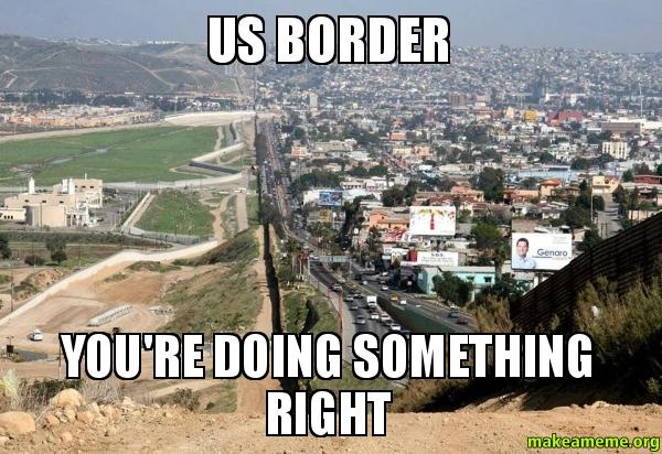 """The different a border makes-Best """"Doing It Right"""" Memes"""