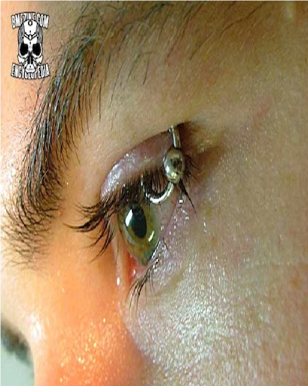 Eyelids-Weirdest Piercings Ever
