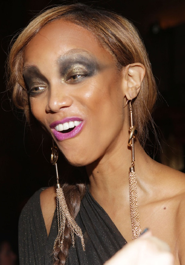 Tyra Banks-Worst Celebrity Makeup Disasters