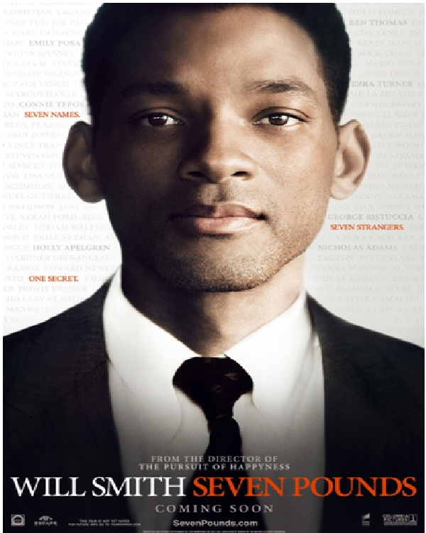 Seven Pounds (2008)-Best Movies By Will Smith Till Now