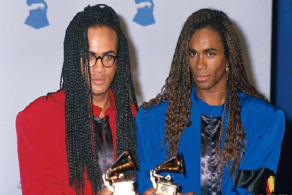 Milli Vanilli-15 Celebs Who Won Big Awards With Terrible Performances