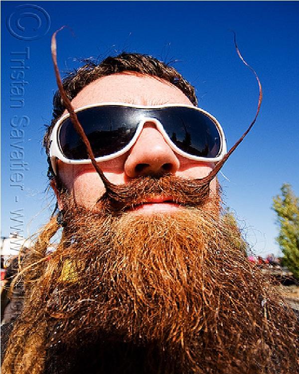 Beard N Tache-Weird Moustaches