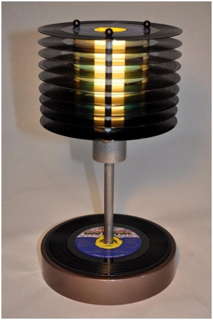 Record Lamp-Must Have Man Cave Accessories