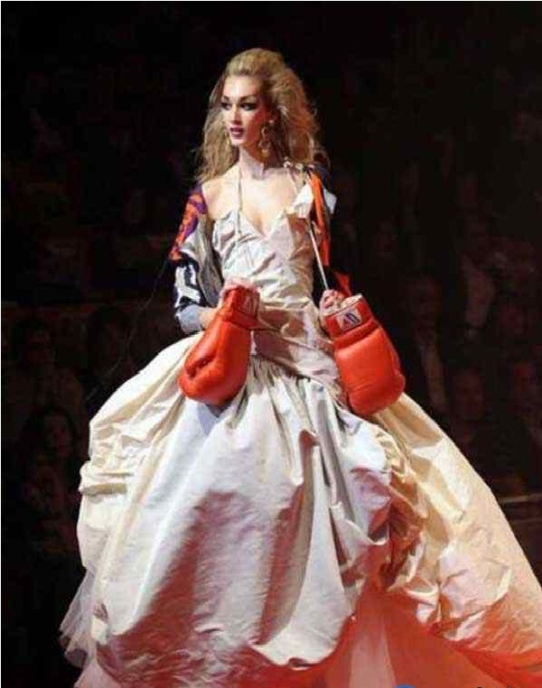 Boxing dress-Worst Wedding Dresses