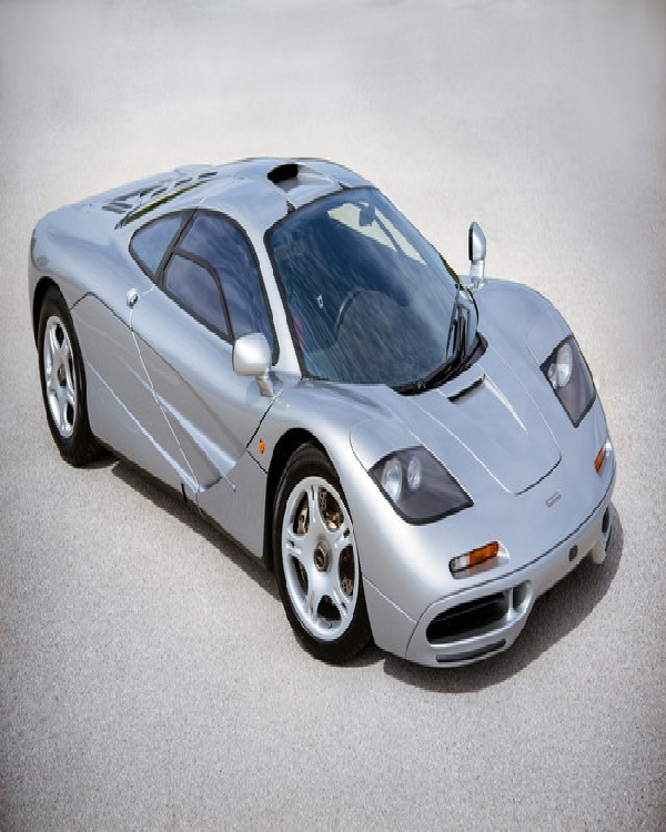 1997 McLaren F1-Most Expensive Vintage Cars