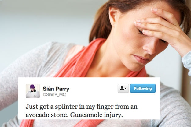 Dangerous avocado-Stupid First World Problems People Posting On Twitter