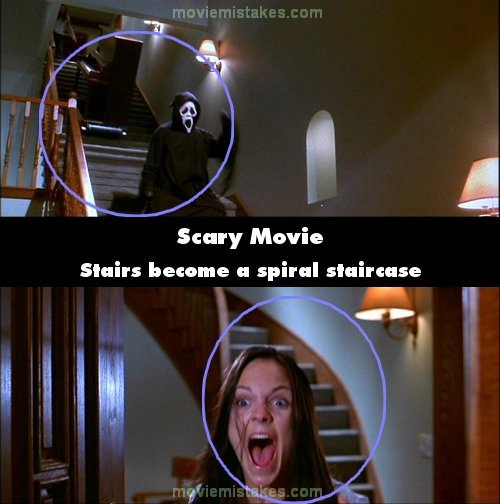 Magic stairs-24 Movie Mistakes You Never Noticed