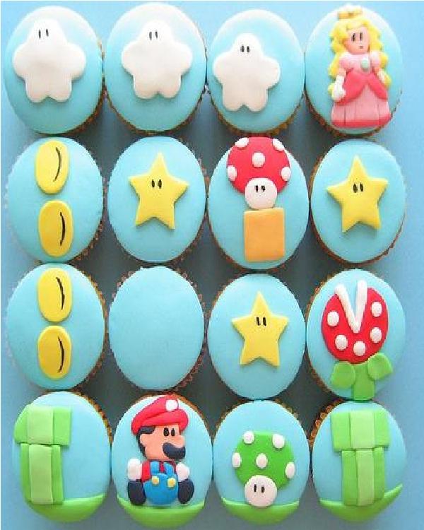 Mario Bros-Amazing Cupcakes
