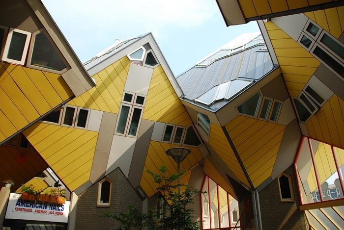 Rotterdam, Netherlands-World's Craziest Buildings