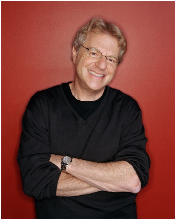 Jerry Springer (Talk Show Host)-Celebrities Who Are Actually Extremely Smart