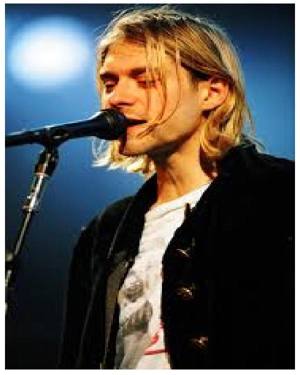 Kurt Cobain 1967-1994-Celebrities Who Died Early
