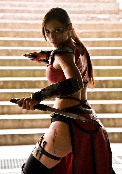 Skarlet-Best Mortal Kombat Cosplays