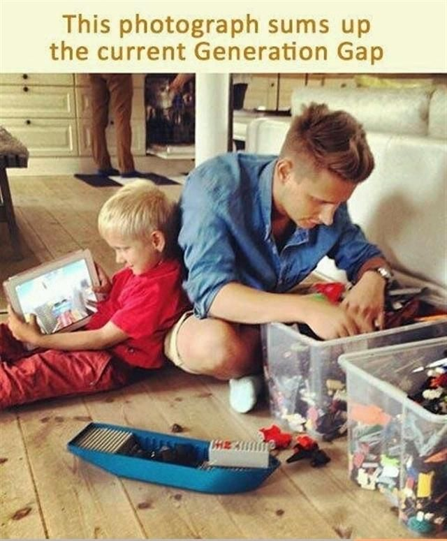A Picture Sums It All-Pictures That Will Make You Pity This Generation