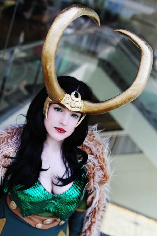 What a lovely pair of horns-Best Cosplays By Girls
