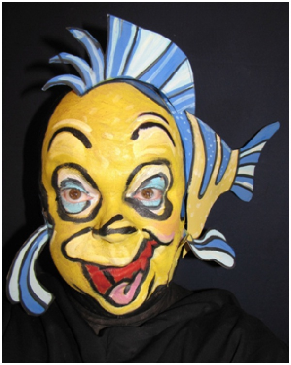 Flounder-Disney Full Body Painting