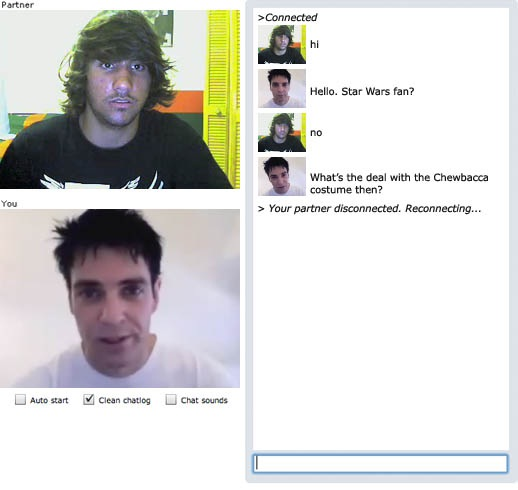 A little bit cheeky-24 Hilarious Chatroulette Chats That Will Make You Laugh Out Loud