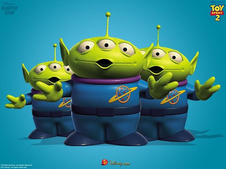 """The aliens-Little Known Things About """"Toy Story"""" Trilogy"""