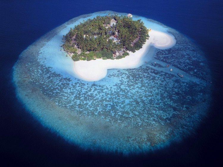 The Maldives-How Our World Appears To A Bird