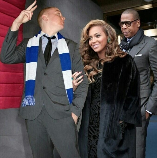 You just wait Jay-Z-Man Photoshops Himself With Famous Celebrities