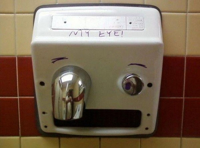 Ouch My Eye-15 Hilarious Toilet Graffiti Images Ever