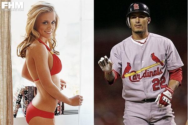 24 Hottest Baseball Players' Wives Jennifer Lopez Baseball