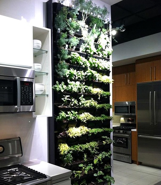 Indoor Vertical Garden-Awesome Home Interior Designs Ever